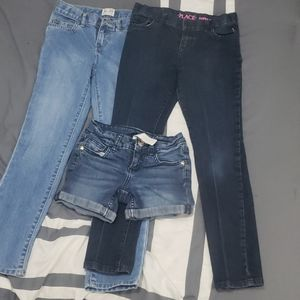 Girls jeans size 7
